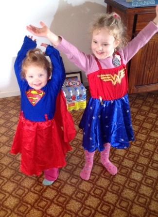 my little superheroes help my writing