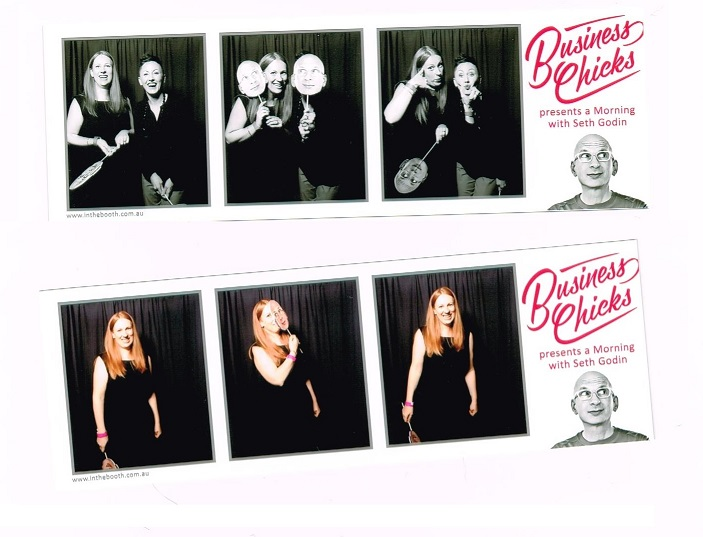 Photobooth shenanigans with mystery girl