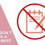 copywriting brief