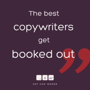 looking for copywriter on Facebook