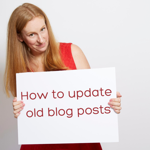 How to update old blog posts-How to update old blog posts